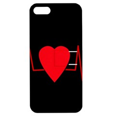 Hart bit Apple iPhone 5 Hardshell Case with Stand