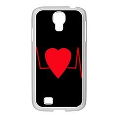 Hart Bit Samsung Galaxy S4 I9500/ I9505 Case (white)