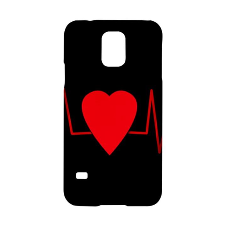 Hart bit Samsung Galaxy S5 Hardshell Case