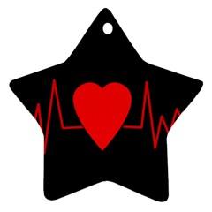 Hart Bit Ornament (star)