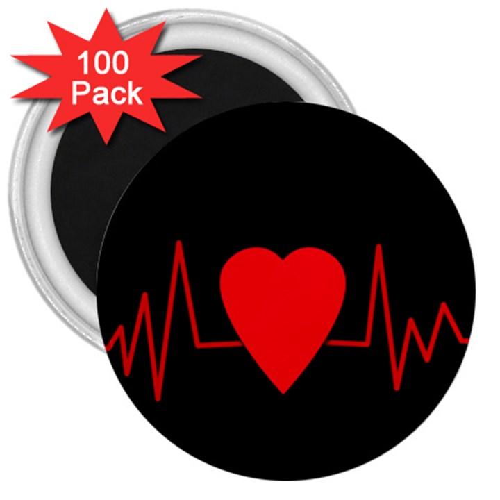 Hart bit 3  Magnets (100 pack)