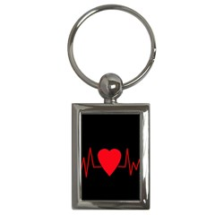 Hart Bit Key Chains (rectangle)  by Valentinaart
