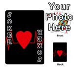 Hart bit Playing Cards 54 Designs  Front - Joker1