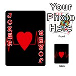 Hart bit Playing Cards 54 Designs  Front - Joker2