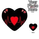 Hart bit Playing Cards 54 (Heart)  Front - Heart9