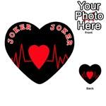 Hart bit Playing Cards 54 (Heart)  Front - Joker2