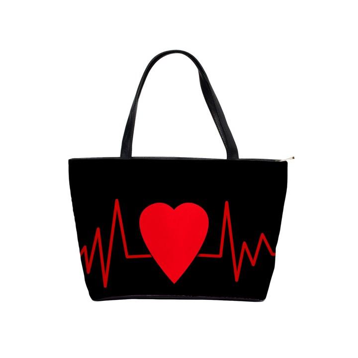 Hart bit Shoulder Handbags