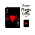Hart bit Playing Cards 54 (Mini)  Front - SpadeJ