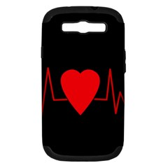 Hart Bit Samsung Galaxy S Iii Hardshell Case (pc+silicone)