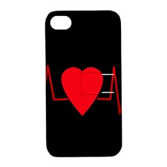 Hart Bit Apple Iphone 4/4s Hardshell Case With Stand