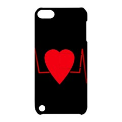 Hart Bit Apple Ipod Touch 5 Hardshell Case With Stand by Valentinaart
