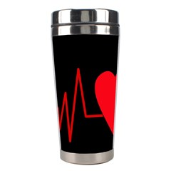 Hart Bit Stainless Steel Travel Tumblers by Valentinaart