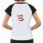 I am hot  Women s Cap Sleeve T Back