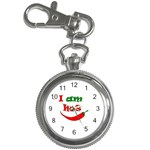 I am hot  Key Chain Watches Front