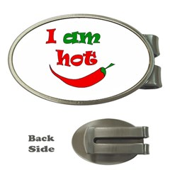 I Am Hot  Money Clips (oval)