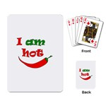 I am hot  Playing Card
