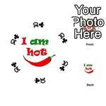I am hot  Playing Cards 54 (Round)  Front - Club10