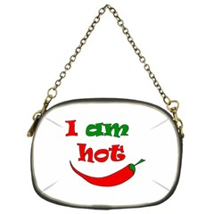 I Am Hot  Chain Purses (one Side)  by Valentinaart