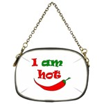I am hot  Chain Purses (Two Sides)  Back