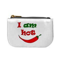 I Am Hot  Mini Coin Purses