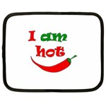 I am hot  Netbook Case (XXL)