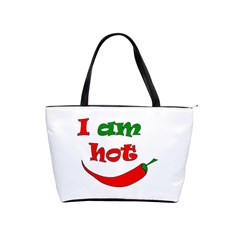I Am Hot  Shoulder Handbags