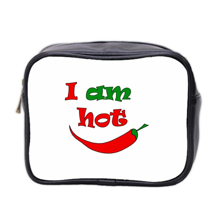 I am hot  Mini Toiletries Bag 2-Side