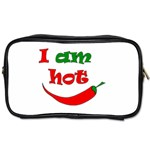 I am hot  Toiletries Bags 2-Side Front