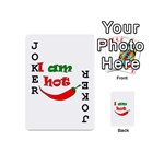 I am hot  Playing Cards 54 (Mini)  Front - Joker1