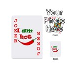I am hot  Playing Cards 54 (Mini)  Front - Joker2
