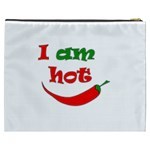 I am hot  Cosmetic Bag (XXXL)  Back