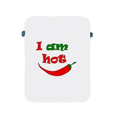 I Am Hot  Apple Ipad 2/3/4 Protective Soft Cases by Valentinaart