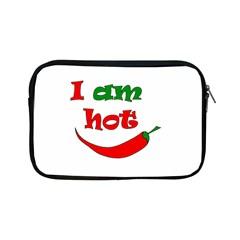 I Am Hot  Apple Ipad Mini Zipper Cases by Valentinaart