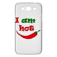 I Am Hot  Samsung Galaxy Mega 5 8 I9152 Hardshell Case  by Valentinaart