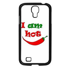 I Am Hot  Samsung Galaxy S4 I9500/ I9505 Case (black)