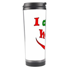 I Am Hot  Travel Tumbler by Valentinaart