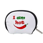 I am hot  Accessory Pouches (Small)  Back