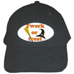 Twerk or treat - Funny Halloween design Black Cap