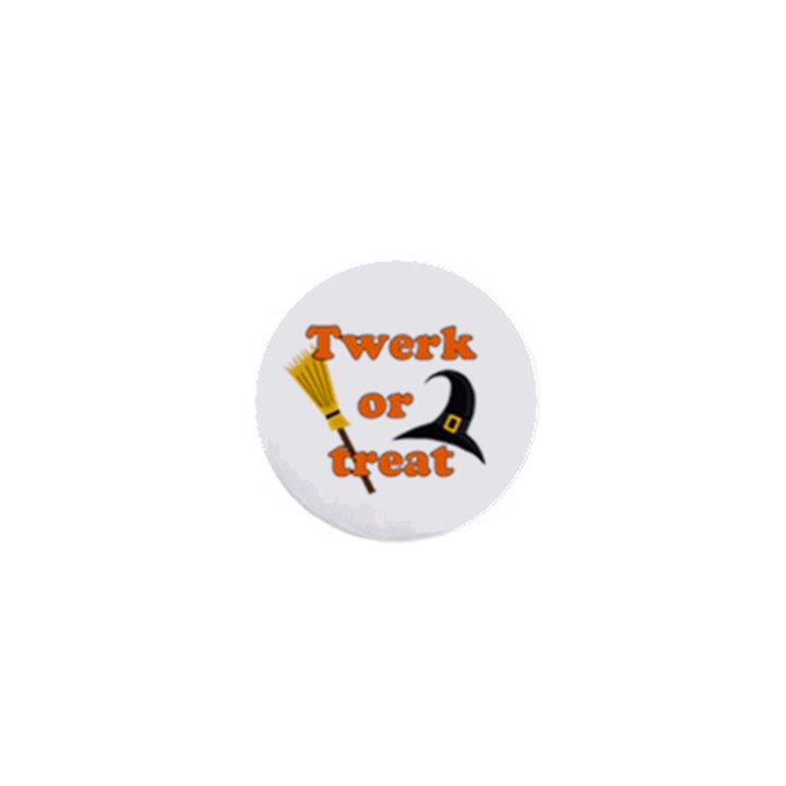 Twerk or treat - Funny Halloween design 1  Mini Magnets