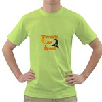 Twerk or treat - Funny Halloween design Green T-Shirt