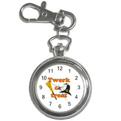 Twerk Or Treat   Funny Halloween Design Key Chain Watches by Valentinaart