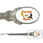 Twerk or treat - Funny Halloween design Letter Openers