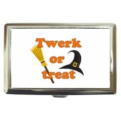 Twerk Or Treat   Funny Halloween Design Cigarette Money Cases by Valentinaart