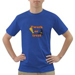 Twerk or treat - Funny Halloween design Dark T-Shirt