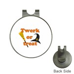 Twerk or treat - Funny Halloween design Hat Clips with Golf Markers