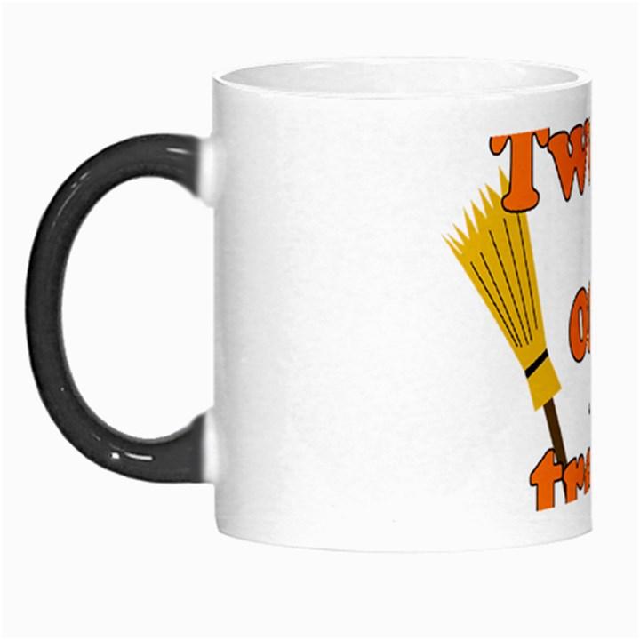 Twerk or treat - Funny Halloween design Morph Mugs