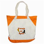 Twerk or treat - Funny Halloween design Accent Tote Bag