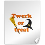 Twerk or treat - Funny Halloween design Canvas 16  x 20