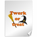 Twerk or treat - Funny Halloween design Canvas 36  x 48