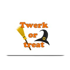 Twerk Or Treat   Funny Halloween Design Plate Mats by Valentinaart